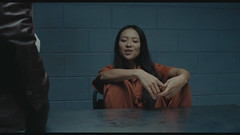 HM15 (UJB88) Tags: county orange woman female jail facility prion prisoner jumpsuit inmate handcuffed correctiona