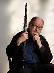 Willem with clarinet (paul indigo) Tags: portrait people musician music man artist clarinet willemvermandere paulindigo