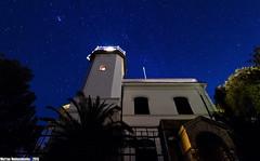 Portofino's lighthouse ... reloaded (Matteo Nebiacolombo) Tags: lighthouse night faro lights riviera liguria portofino notte rivieradilevante stelle levante montediportofino cielostellato nottestellata skyfullofstars sigma816