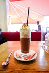 Hot Chocolate (A. Wee) Tags: france restaurant hotchocolate valthorens lamaison
