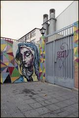 2016 (uno900) Tags: madrid street espaa art gabriel graffiti spain san arte madonna virgin urbano carrion virgen ze graffitis graffitimadrid streetartmadrid arteurbanomadrid