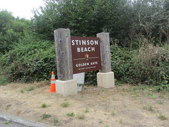 Stinson Beach . !!  On the busy days if you don't arrive by 9am you are better off to drive the back home !..really !cuz this place get real crowded during weekend and hot days etc ... but hey, parking is free (reza fakharpour) Tags: ocean california county sea sky nature water clouds landscape coast sand highway rocks waves pacific marin shoreline shore goldengate marincounty coastline northern stinsonbeach pacificcoast stinson beachca