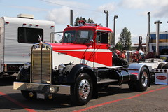 ATHS National 2016 (13) (RyanP77) Tags: aths truck show salem oregon peterbilt kw kenworth logger cabover pete freightliner marmon dump semi