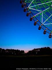 Blue moment. (kota-G) Tags: blue sunset tokyo gr ricoh bluemoment grd3