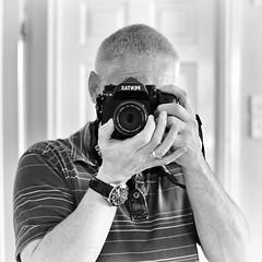 Camera Man (Chris Johnston Photography) Tags: portrait self 50mm mirror pentax k1