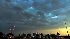 Overcast (Sanjiban2011) Tags: city morning sky cloud nature clouds skyscape nikon cityscape cloudy outdoor corniche monsoon d750 fullframe fx cloudscape stormcloud doha qatar monsoonclouds nikon24120