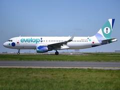 EC-LZD, Airbus A320-214SL, c/n 5642, Evelop Airlines, CDG/LFPG, 2016-05-01. (alaindurandpatrick) Tags: airbus airports airlines airliners minibus a320 cdg airbusa320 jetliners a320200 lfpg cn5642 airbusa320200 parisroissycdg eclzd evelopairlines