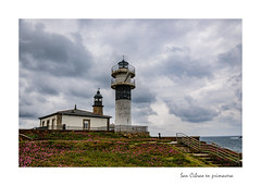 San Cibrao en primavera [Explored] (Rafa Lorenzo) Tags: lighthouse faro galicia lugo amariña sancibrao