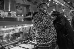Reading Terminal Market, 2016 (Alan Barr) Tags: street people blackandwhite bw philadelphia monochrome mono blackwhite market candid streetphotography sp streetphoto gr ricoh readingterminalmarket 2016 readingmarket
