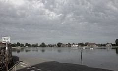 Bosham Harbour (Lindsey Bowden) Tags: road coast bosham flood south tide lowtide hightide
