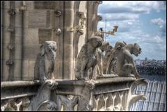 Notre Damen Gargouilles (IzabelaWinter) Tags: paris dame gargouille natre chimeres