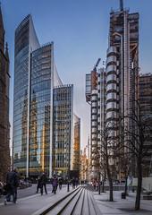 Back to the city (Steve-V-) Tags: london lloyds