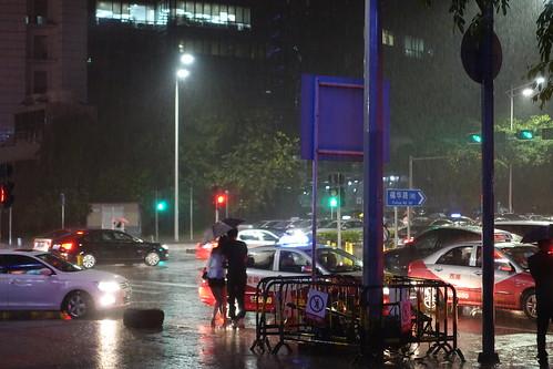 Shenzhen storm and rain