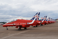Red Arrows (wells117) Tags: red team display hawk aircraft military sony jet canopy unionjack trainer redarrows tails raf a100 fairford riat raffairford jettrainer displayteam fastjet hawkt1 xx242 riat2014 clivewells