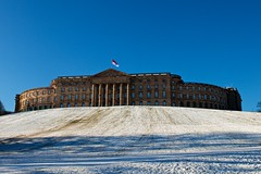 (allanimal) Tags: snow castle weather architecture flag government stockcategories afszoomnikkor2470mmf28ged