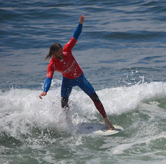 WSL Longboard Pro Surf Competition - Gaia, Portugal (sweetpeapolly2012) Tags: sea water sand surf waves surfer sunny competition surfing surfboard longboard pro surfers wetsuits longboarding surfmachine longboarders longboarder prosurf wsl
