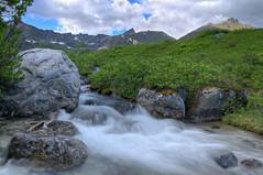 Alpine Rush (jack4pics) Tags: alaska creek hatcherspass fishhookcreek