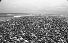 Littoral Zone :  Sound And Vision (Russell Moreton) Tags: light sun moon beach gravity planet visualart tides earthbound astronomical becoming existential liquidwater criticaldistance russellmoreton