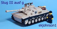 Stug III ausf g (ekjohnson1) Tags: world two 3 brick virginia war tank lego tiger iii wwii fair german build panther citizen panzer moc stug brickarms