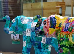 Herd of Sheffield elephant sculptures (39) (Simon Dell Photography) Tags: herdofsheffield herdof sheffield herd eliphants statues town city sculptures colorfull awsome 2016 trail see find them locations