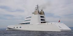Superyacht A (chris wright - hull) Tags: port boat mediterranean yacht yachts andrey frenchriviera superyachts cros portcros superyacht a frenchmediterranean melnichenko igorevich