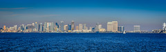 Panoramic view of San Diego Bay and City Skyline - San Diego CA (mbell1975) Tags: ocean california ca city sea panorama usa building water skyline buildings bay us office san view unitedstates pacific sandiego cove pano diego panoramic calif cal vista coronado skyscrapper skyscappers