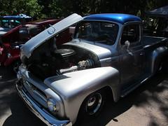 I-H V-8 (Hugo-90) Tags: car auto automobile antique classic show club colorado ih international pickup truck v8