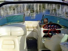 Reflejos (camus agp) Tags: espaa mar agua barcos panasonic marbella reflejos puertos proa fz150