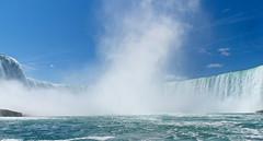 Approaching the Maelstrom (Carol Crook) Tags: niagara hornblower water waterfall spray canada horseshoefalls