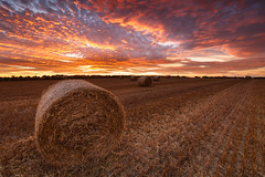 Straw Bales Sunset [Explored] (Graham Daly Photography (ASINWP)) Tags: canon6d countycork grahamdalyphotography guileen landscapephotography leefilters sunset beautiful dusk farm fields harvest haybales imagesofireland irishlandscapephotography irishlandscapes irishphotographer irishscenery landscapesofireland magichour outdoors strawbales gyleen dramaticsky amazingsunset bestsunsetever
