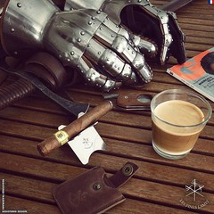Afternoon break! #Trinidad Coloniales and unstirred #latte  (steven_cigale) Tags: cigar cigare cigarlife cigaraficionado cigarporn cigars cigares cigarlover amateurdecigare     zigarre cigarsmoking luxury cigarsmokingmodel p1p2c cigarsmoker cigarians botl aficionado cigaroftheday