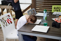 #PassTheTime (adrien_zu) Tags: flickrfriday passthetime hangover sleeping plate child diner fatigue passerletemps assiette enfants sony a7 ilce7 zeiss sel55f18z