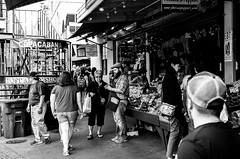 Here, have a slice of fruit-1004709 (Gene Trent) Tags: pikeplacemarket fruit fruitstand