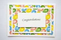 Latest Handmade Cards. (capstick13) Tags: congrats balloons handmadecard