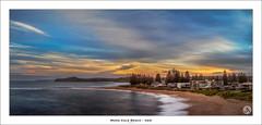 Mona Vale Beach - NSW (John_Armytage) Tags: monavale northernbeaches pano panorama panoramic johnarmytage sunset beach nisifilters sonya7r2 carlzeiss