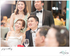 wedding - yany n anthony (kuicheung) Tags: wedding bigday marriage event snap people bride groom bridesmaids groomsmen love smile friends family happiness weddingphotography weddingphotojournalist weddinggown realwedding hongkong canon