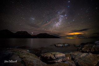 Coles Bay by Starlight