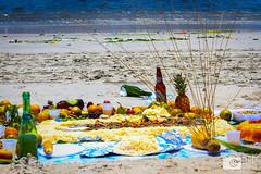 Offerings to the Sea for Rveillon in Rio de Janeiro (photosbymcm) Tags: janeiro rio de riodejaneiro brazil brasil southamerica travel south america sugarloaf reveillon offerings sea food drink sacrifice tradition