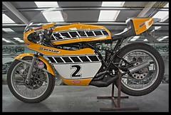 Yamaha TZ 250 E (zweiblumen) Tags: yamahatz250e 1978 motorcycle motormuseum jurby jourbee isleofman ellanvannin hdr canoneos50d polariser zweiblumen 2 martincopland 1983mgp photoshopcs4