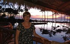 (Mitchell Lafrance) Tags: 2016 vacation travel holiday hawaii maui wailea grandwailea sunset pagemaryse marysepage
