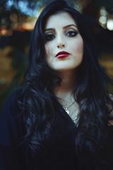 Isadora (TheJennire) Tags: photography fotografia foto photo canon camera camara colours colores cores light luz young tumblr indie teen people portrait blackhair darkhair face makeup photoshoot fashion girl