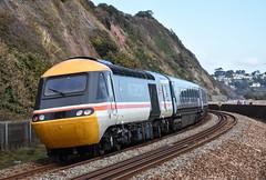 43185 Intercity (Teignstu) Tags: teignmouth devon railway seawall class43 43185 intercity greatwestern