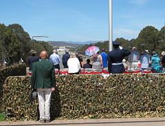 At attention for The Rouse (spelio) Tags: day flag wwi australia pole worldwarone canberra ww1 remembrance act worldwar1 armisticeday armistice awm australiancapitalterritory 111114