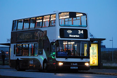 646 (Callum Colville's Lothian Buses) Tags: ocean bus buses edinburgh terminal dennis denis lothian trident madder lothianbuses plaxton edinburghbus dennins madderandwhite madderwhite plaxtonlothian dennislothianbuses