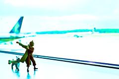 tintin at changi - adventure of tintin (matamayke) Tags: airport snowy adventure tintin changi herge