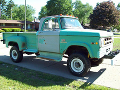 1969 Dodge W300 4x4 Power Wagon (grizfan) Tags: forest truck 4x4 dodge service ram powerwagon