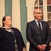 Dr. Christie L. Gilson (FFSB Member) with Tom Healy, Chair of FFSB