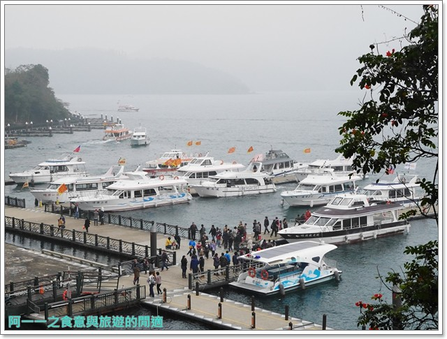 日月潭南投旅遊景點低碳鐵馬電動車電動船雲品下午茶image045