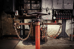 Handrad (mr172) Tags: museum fabrik louise brandenburg brikettfabrik go2know
