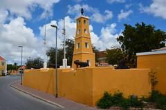 Dutch fort at Kralendijk (Bonaire 2014)